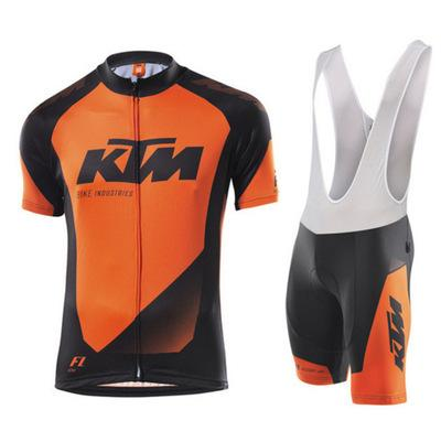 best selling KTM Men pro team NEW cycling jersey sets summer ropa ciclismo mountain bike cycling clothing racing bike wear H1406F