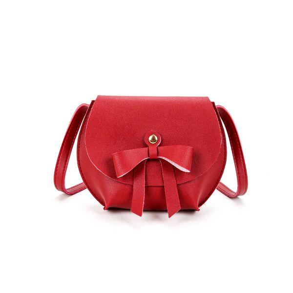 Crossbody small bag 2019 Korean version of the shell bag bow pendant mobile phone purse women's shoulder Messenger bag