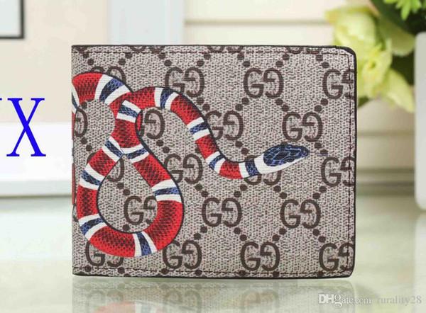 Neue Mode Frauen Geldbörsen Geldbörse Hohe Qualität Herren Brieftasche Tier muster Kurze Brieftasche Kartenhalter Mit Box