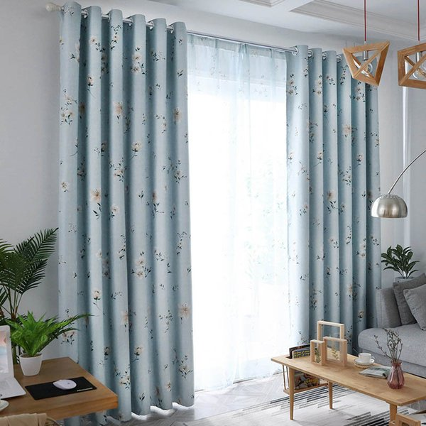 2019 Exquisite Lily Flower Print Blackout Curtains Home Bedroom Windows  Decor Drapes Decorative Cloth New Fashion Polyester Curtains From Hobarte,  ...