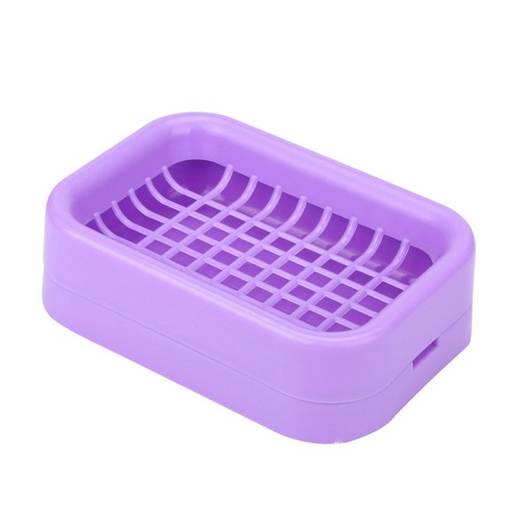Colors Brand New Soap Dishes Home & Garden Bathroom Accessories Travell Plastic Soap Dish Box Case Holder ZJ0818