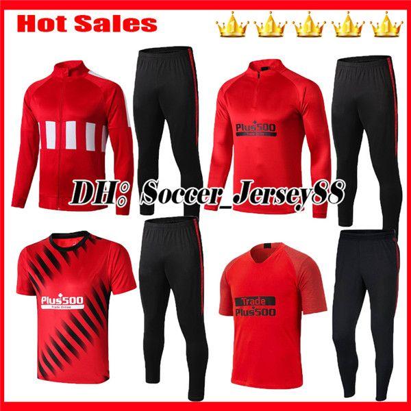 2019 2020 Survetement Training suit tracksuit kits jacket 19 20 Soccer Jerseys camiseta de fútbol football shirt kits adult kit traingsuit