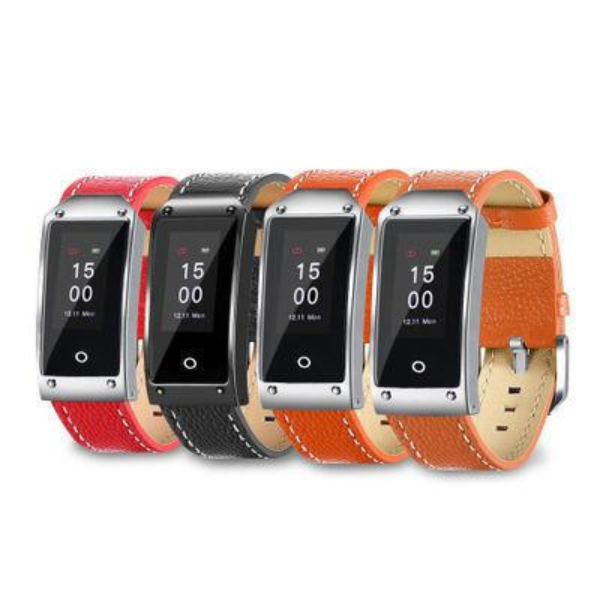 New Pattern Y2 Color Screen Intelligence Bracelet Plan Step Heart Rate Blood Pressure Motion Lift The Wrist Genuine Leather Watchband Sleep