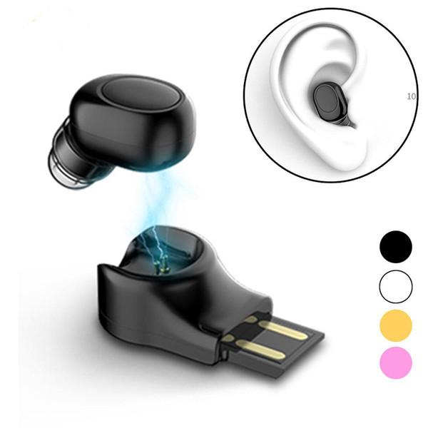 VT11 Mini Wireless Bluetooth Kopfhörer Invisible Ohrhörer In Ear Freisprecheinrichtung Headsets Magnetische USB Ladegerät Ohrhörer Für Smartphones
