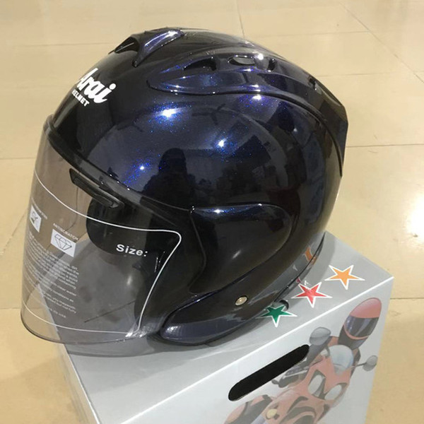 Motorcycle Half Helmet Ultralight Helmet With Light Intergrally-molded Safety Adult Mountain Road Grey Helmets Dot Approved