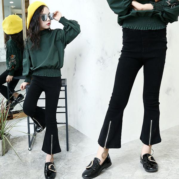 Autumn Full Length Skinny Kids Pants Girl Trousers Baby Flare Pants Kids Leggings Fashion Children Clothing Girls Leggings