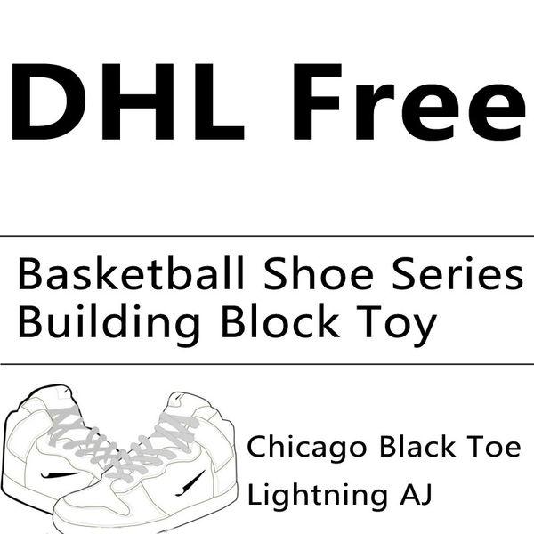 BALODO All'ingrosso Piccolo Diamante Block Mini Building Block Basketball Serie Assemblage Giocattoli educativi Sneakers Puzzle Giocattoli DHL Free