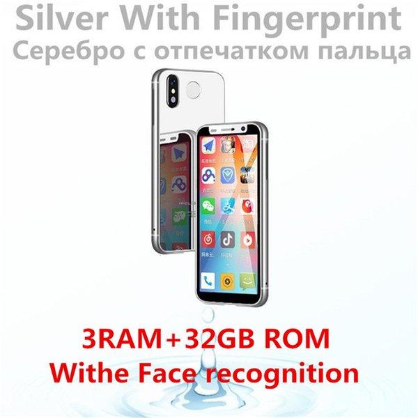 ID de face d'argent 3GB + 32GB