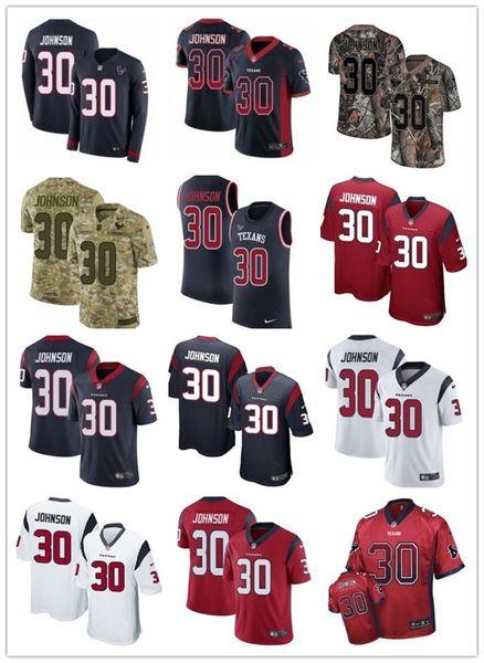 2019 custom any numa number best Rugby jersey Houston 30 Kevin Johnson Texan men/WOMEN/ YOUTH FOOTBALL Jerseys s-xxxxl
