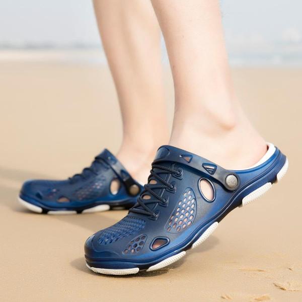 good quality Designer Sandals Summer Stripped Slippers Men Flip Flops Summer Beach Rubber Shoes Male Flats Sandals Black Blue Army Green