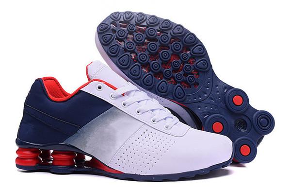 Erkek Spor ve Açık Ayakkabılar OZ Teslim Sneakers Koşu Eğitim Ayakkabı Şok Emici Anti-Kaygan Ünlü Marka Yürüyüş Trekking Ayakkabı A2