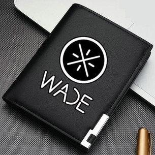 Dwyane Wade wallet Wow quick flash purse Basketball short leather cash note case Money notecase Loose change burse bag Card holders
