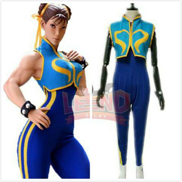 Street Fighter Chun Li Game Halloween Cosplay Costume Blue Costume Womens Costumes Mens Costumes From Dream7 48 16 Dhgate Com