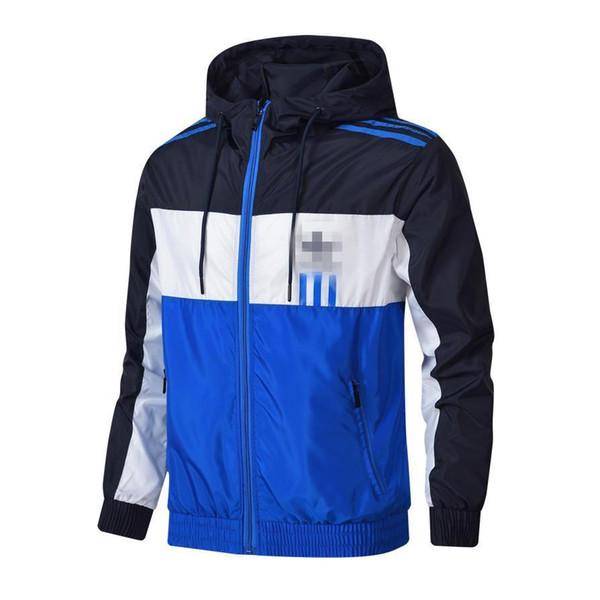 Мужские спортивные куртки ветровка с рисунком письмо с тонким пальто молния повседневная куртка L-4XL