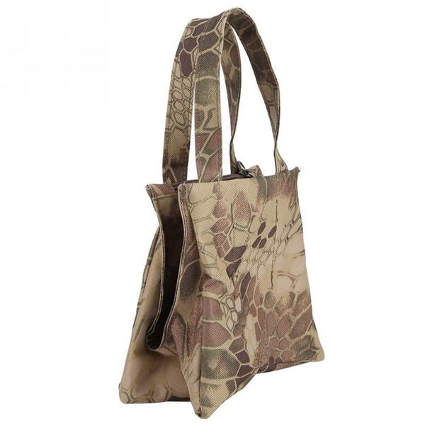 Hunting Bag Unfilled Camouflage Photography Camera Gun Rest Bag Sandbag Outdoor Tack Hunting Rifle Rest Shooting #644924