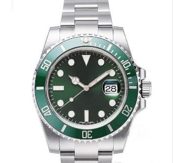Роскошные мужские часы Top Man Luxury Sport Watch качества Asia 2813 40мм из нержавеющей стали автоматические механические часы Светящиеся