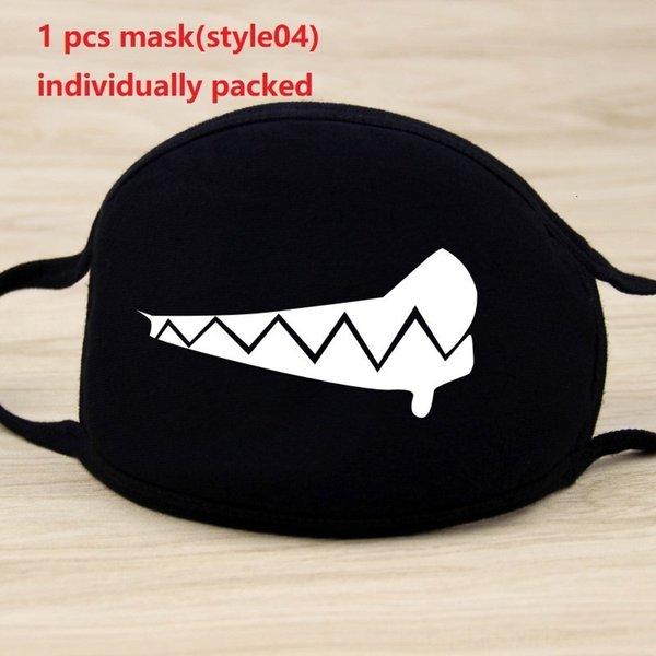 1pc maschera nera (style04)
