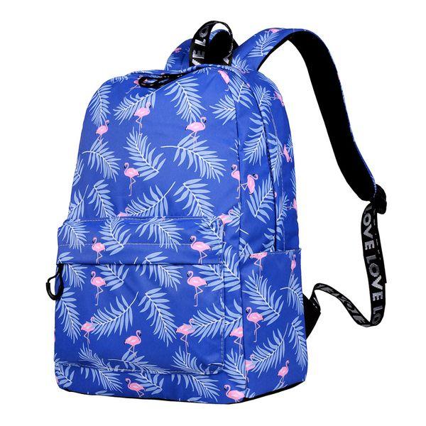 Designer-CIKER Cute Waterproof Women Backpack Flamingo Pattern Lady Travel Bookbag Animal Printing School Bags For Teenage Girls Mochilas