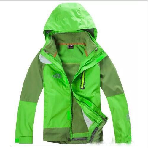 Nova marca ao ar livre das crianças ao ar livre menino trovoada trovoada à prova d 'água destacável snowsuit quente com jaqueta de lã grossa