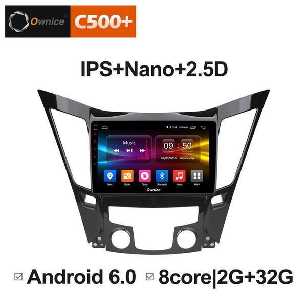 "9"" 2.5D Nano IPS Screen Android Octa Core/4G LTE Car Media Player With GPS RDS Radio/Bluetooth For Hyundai SONATA 8 2011-2014 #5877"