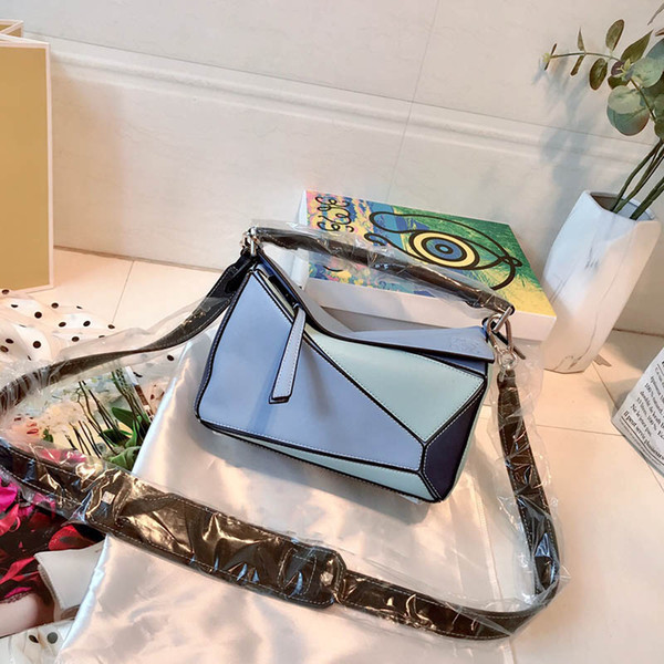 2019 Puzzle large bag Genuine leather luxury famous designer Handbags backpacks handbag Sac à main tote bags purse womens crossbody 051710
