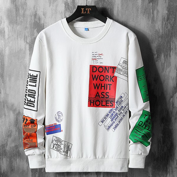 l to 9xl classic t shirts men long sleeve hip hop tshirts 2020 new big size printing sport sweatshirt spring windproof  man