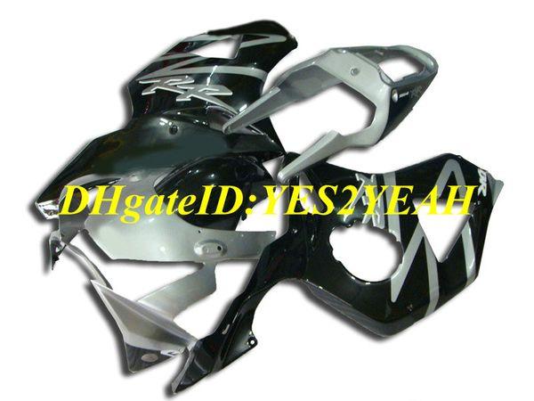 Kit de carenado de motocicleta para Honda CBR900RR 954 02 03 CBR 900RR CBR900 2002 2003 ABS New Silver negro Carenados conjunto + Regalos HC26