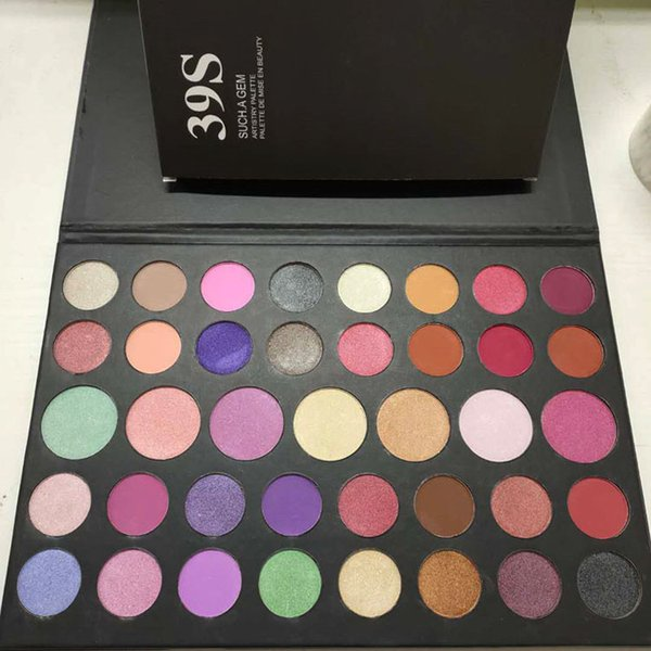 Brand 39S eye shadow Palette 39S SUCH A GEM eyeshadow palette 39 colors eye shadow palette Makeup Matte Shimmer Eyeshadow