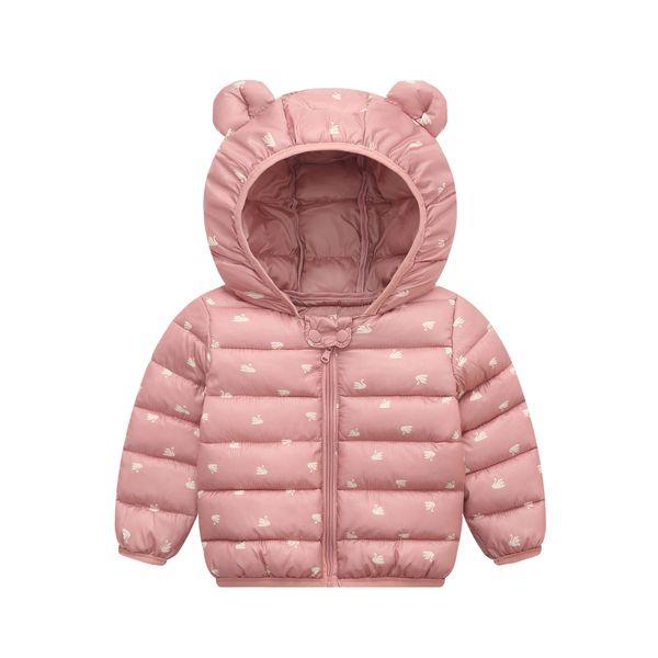 Inverno das crianças Casacos Quentes Outerwear Para Meninos Do Bebê meninas Casacos Com Capuz Crianças Moda Para Baixo aquecimento Casaco Infantil Parka roupas