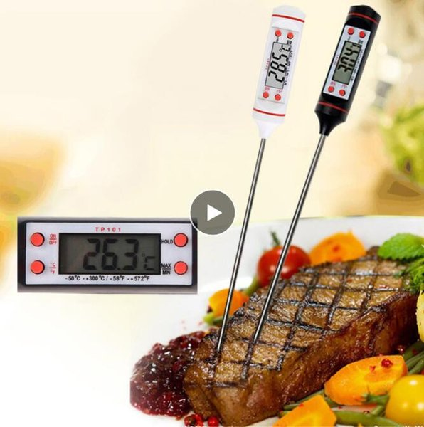 best selling Food Grade LCD Screen Habor Digital Meat Thermometer for Kitchen Cooking Food Grill BBQ Cooking tool Meat Candy Milk Water