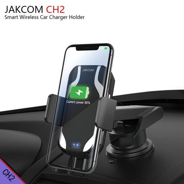 JAKCOM CH2 Smart Wireless Car Charger Mount Holder Hot Sale in Cell Phone Mounts Holders as mi gesture control atv