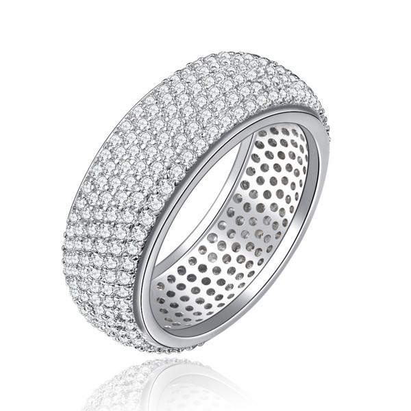 Высокое качество ретро медный материал Циркон кольцо корейской моды для женщин, мужчин, ювелирные изделия оптом лето горячие новые классические старинные модели