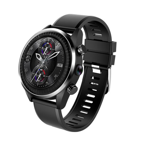 KC05 4G Relógio Inteligente Homens Android 7.1.1 1 GB + 16 GB Quad Core GPS 5MP Câmera 610Mah Bateria Monitor De Freqüência Cardíaca smartwatch