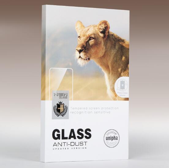 EVA esponja Caixa de Varejo caixas De embalagem de Embalagem Para 3D superfície curvada protetor de tela de vidro temperado samsung s7 borda s8 s9 mais nota8 9