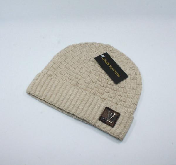 6 Farben Real Fur Hight Qualität MON Marke Männer Frauen Unisex Mützen Hight Qualität Pom-Pom Skull Caps Hüte mit Original-Tag