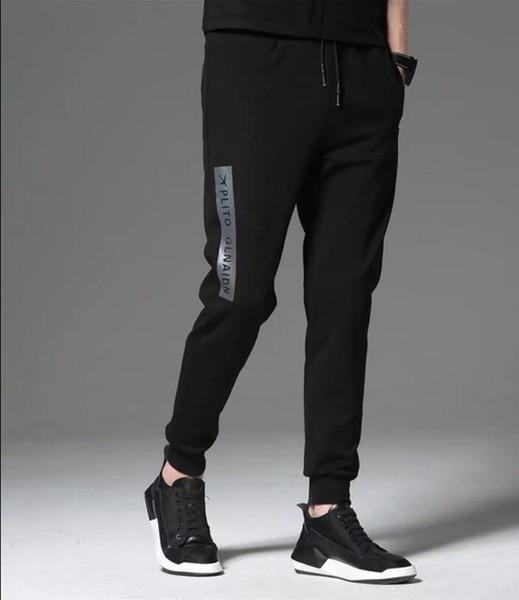 2019 Otoño Nuevo Estilo FC1970 Pantalones Hombres Chinos Casuales Pantalones Joggers Slim Fit Hombre Pantalones Chinos Con Elástico Cuff Ropa
