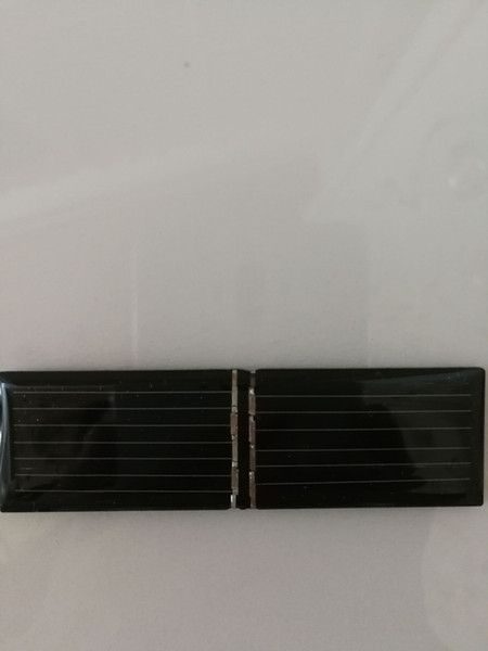 best selling Freeship 100pcs solar panel cells accessorys 82x24mm 4V 55mA single-crystal silicon DIY charger making accessorys clean energy