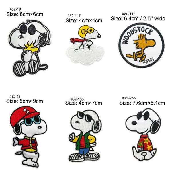 Snoopy Woodstock Correctifs Chien Pet Band de Musique FER BRODERIE SUR APPLIQUE holloween cosplay costume accessoires props vêtements