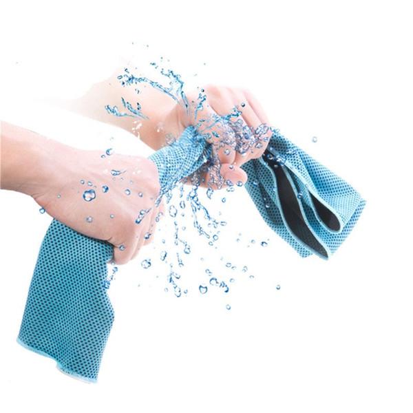 Asciugamano sportivo 100% in feltro freddo Asciugamano sportivo per adulti Palestra da jogging Resistente Running Nuoto istantaneo Asciugamano freddo freddo freddo freddo 30X100CM