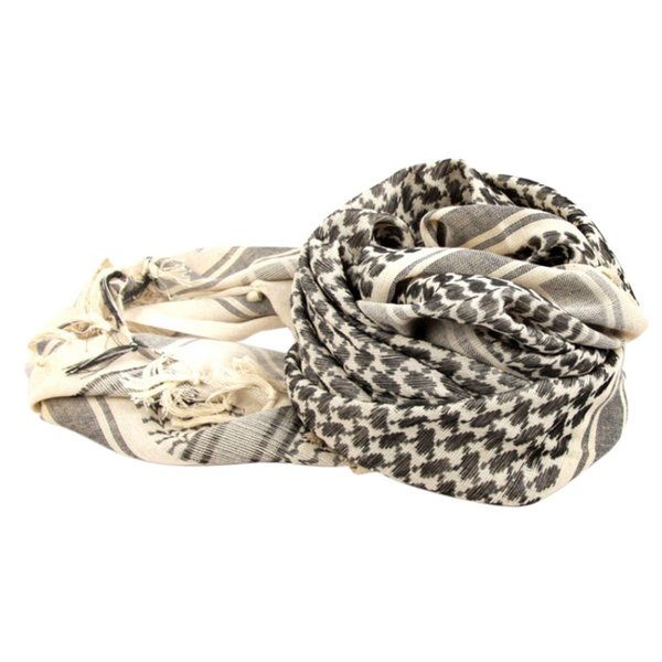 Outdoor Tactical Scarf Thickened Army Fan Arab Square Towel Warm Winter Scarf Men And Women Cotton Turban Women Men Gift KT01