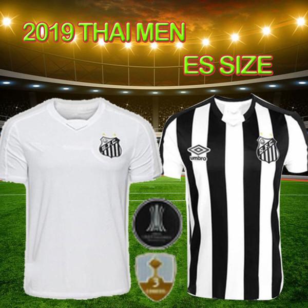19 20 jerseys Thai Santos Oliveira Santos Futebol Clube Kayke hombres de alta calidad 2019 2020 nueva camiseta de fútbol