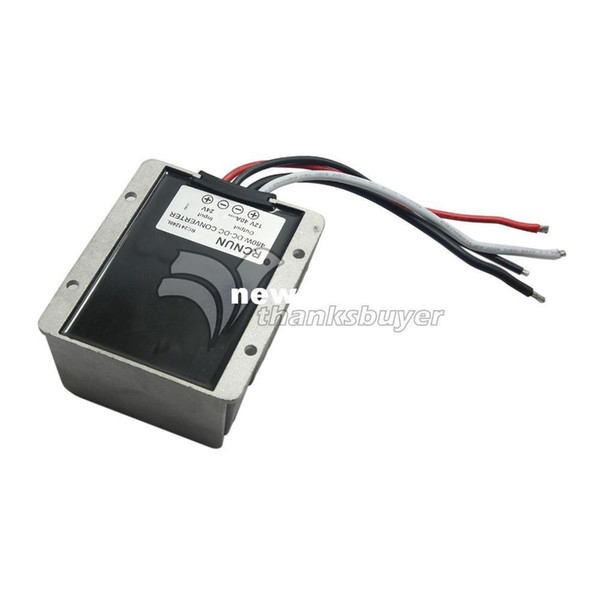 Freeshipping High Efficiency Step-Down DC-DC Converter Voltage Regulator 24V TO 12V 40A Waterproof Car Power Supply