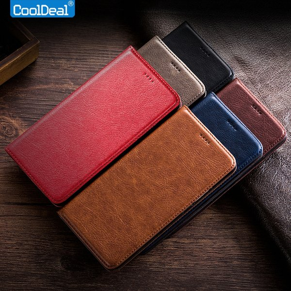 Vintage Leather Case For Lenovo Vibe P1m P1ma40 Luxury Mobile Phone Flip Cover Full Protection Retro Leather Case