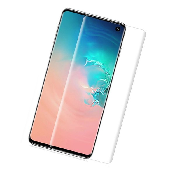 Whosesale Hot For Samsung Galaxy S10 Plus S10E Soft TPU Screen Protector Film Fingerprint Sensor Compatible Full Cover Screen