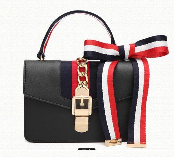 Diseño clásico dama Chica Mujer bolso de hombro de lujo Bolsos estrella Bolsa de maquillaje de viaje billetera Capacidad Impermeable Bolsas de trabajo en la playa 3 colores