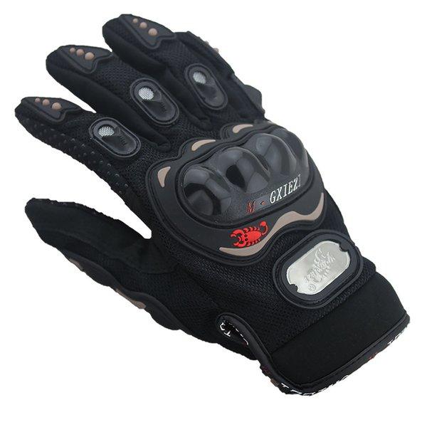 M L XL XXL Outdoor Sports Vollfingerhandschuhe Radfahren Moto Racing Sportbekleidung Anti-Break-Handschuhe Anti-Rutsch-Atmungsaktive Handschuhe Ganzer Verkauf