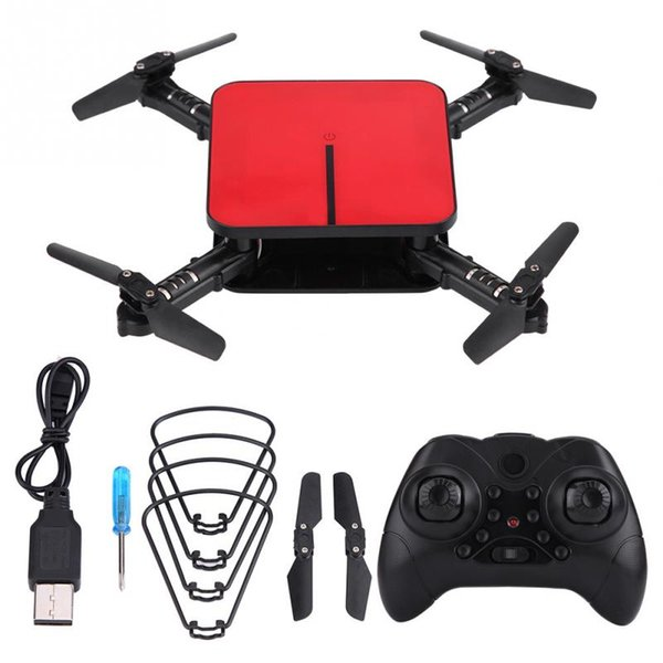H1 Foldable Wifi FPV Camera Remote Control Quadcopter Altitude Hold LED Light 3D rollover function RC Drone toy for kids gifts