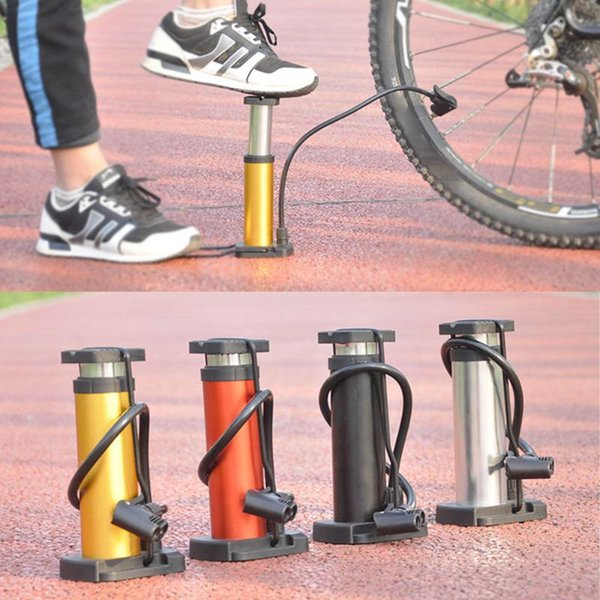 Durable Bicycle Basketball Air Pump Inflator Manometer with Pressure Gauge Worth