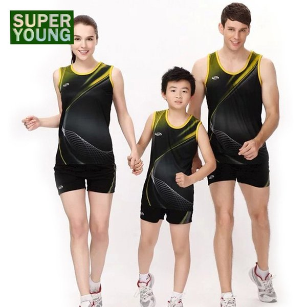 2573e72ef9aa 2019 Children Running Jogging Suits Gym Tennis Sportswear Men Women  Training Kids Badminton Basketball Outdoor Fitness Clothing Sets #567437  From ...