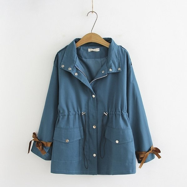 Plus Size Vestes d'hiver Femme Automne capuche Officewear Manteaux Zip-up des femmes des veste femme veste T191021